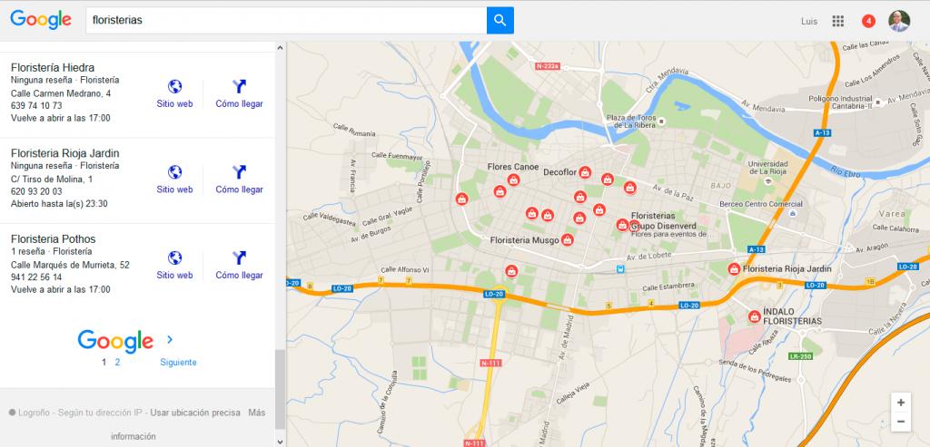 google maps ros web